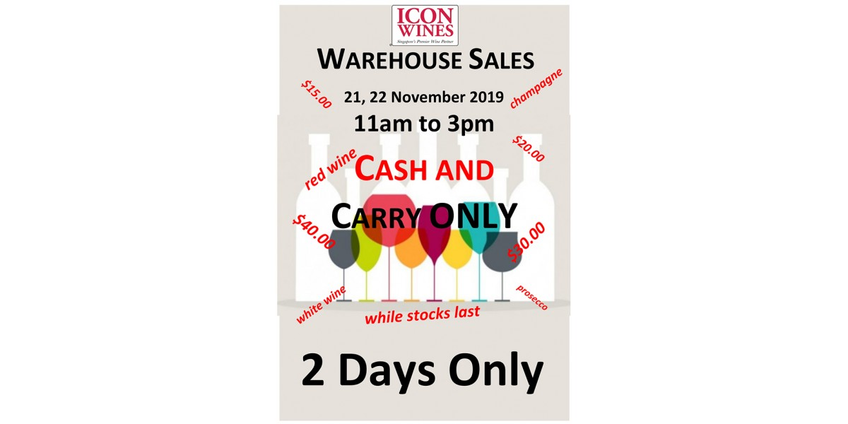 We are having our First Warehouse Sales!