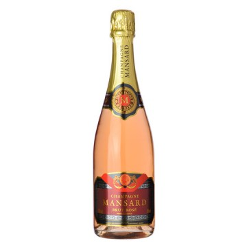 Champagne Mansard Rose Brut NV 750ml