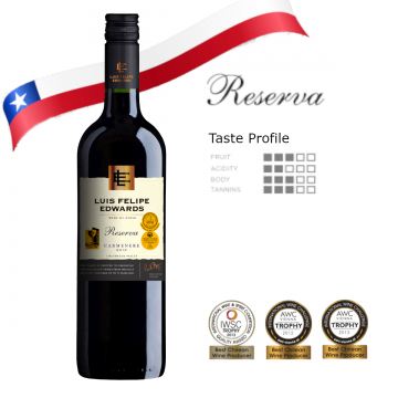 Luis Felipe Edwards Reserva Carmenere 750ml