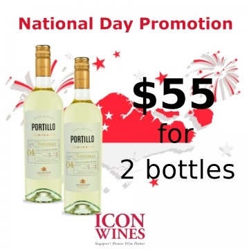 Salentein Portillo Chardonnay Twin Pack