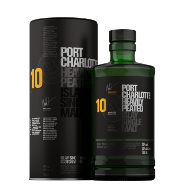 Port Charlotte 10 YO (Heavily Peated)