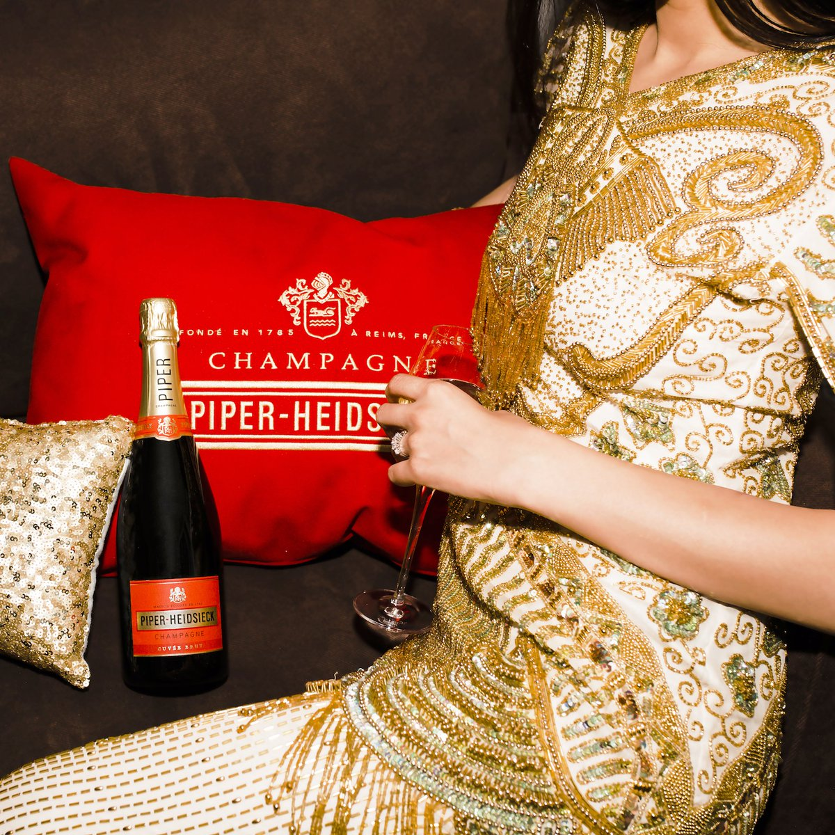 Piper-Heidsieck Celebrates 5 Years at the Oscars